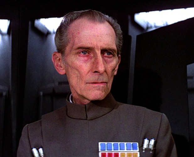 Star Wars villains Grand Moff Tarkin