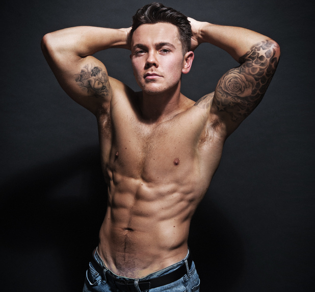 Ray Quinn shows off his new body