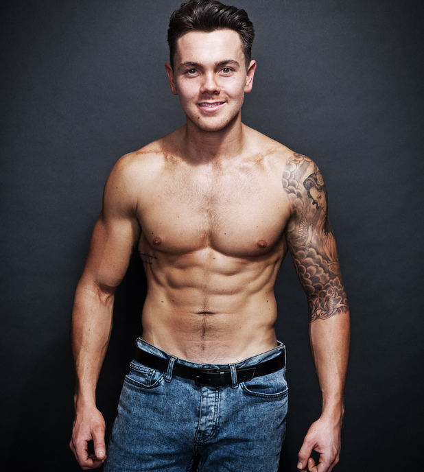 Ray Quinn shows off weight loss results