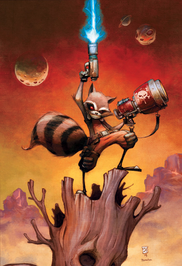 Skottie Young's Rocket Raccoon