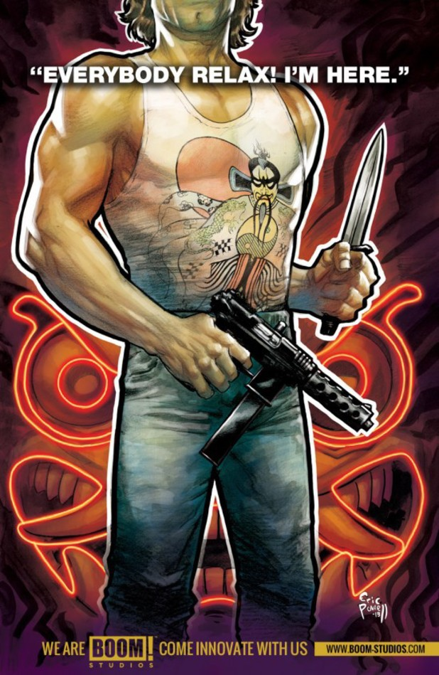 Big Trouble in Little China comic teaser
