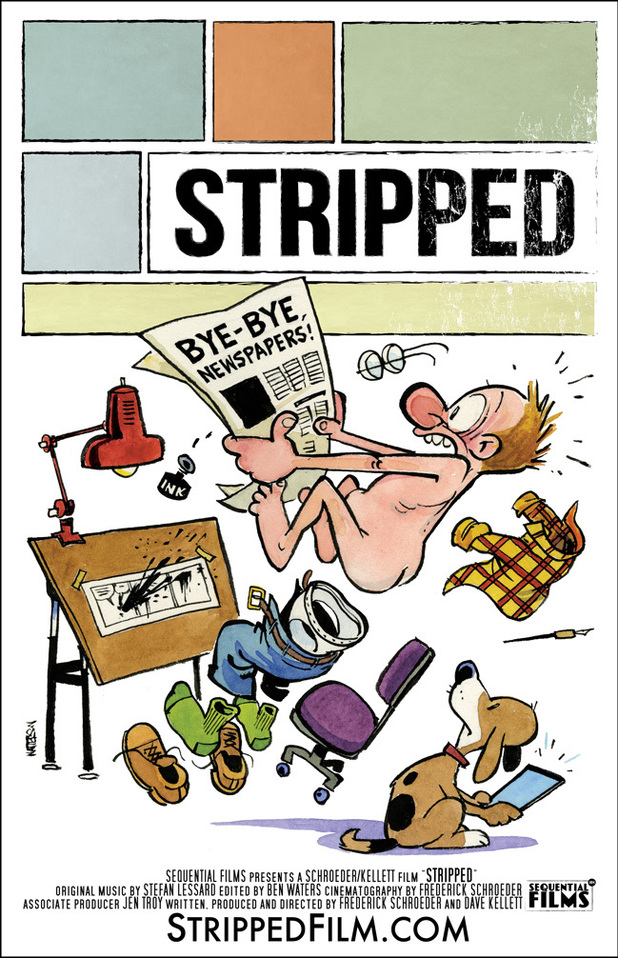 Bill Watterson's Stripped poster