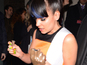 Lily Allen breaks NME Award at party