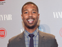 Human Torch actor Michael B Jordan praises his outfit for the Fox reboot.