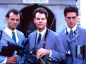 Bill Murray, Dan Aykroyd & Harold Ramis in 'Ghostbusters'