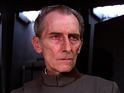 Peter Cushing, who died in 1994, played the Death Star commander in the original 1977 film.