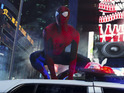 Andrew Garfield as Spider-Man in The Amazing Spider-Man 2
