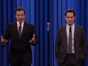Jimmy Fallon challenges Paul Rudd to act out some classic musical moments.