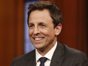 The premiere of Late Night with Seth Meyers