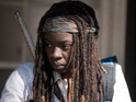 Michonne's alter ego talks season 4's climax, mad fans and on-screen romances.
