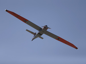 An American test drone