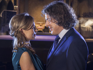 Alan Davies & Sarah Alexander in Jonathan Creek