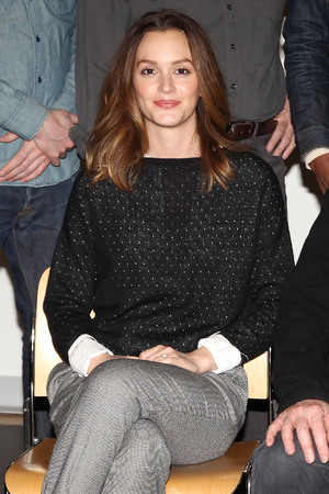 'Of Mice and Men' Broadway play photocall, New York, America - 06 Mar 2014 Leighton Meester 6 Mar 2014