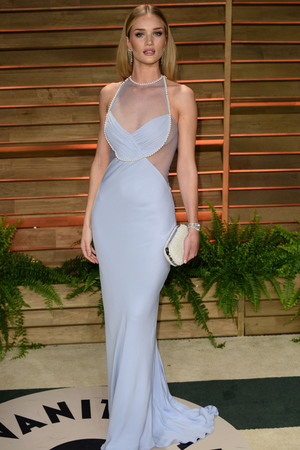 86th Annual Academy Awards Oscars, Vanity Fair Party, Los Angeles, America - 02 Mar 2014 Rosie Huntington-Whiteley