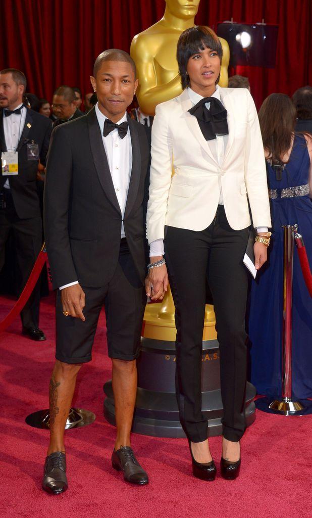 Pharrell Williams shorts Oscars - Oscars 2014: Red carpet ...