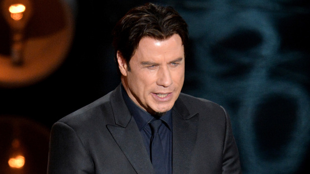 John Travolta at Oscars