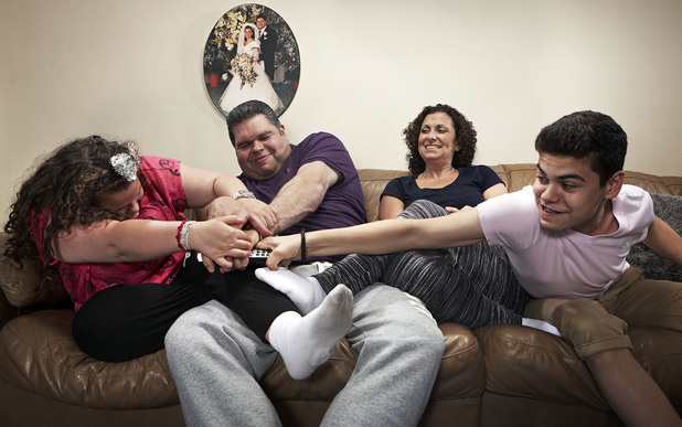The Tapper family on Gogglebox