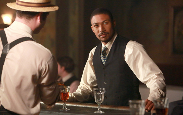 Charles Michael Davis as Marcel in The Originals S01E15: 'Le Grand Guignol'
