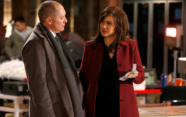 James Spader & Megan Boone in The Blacklist S01E11
