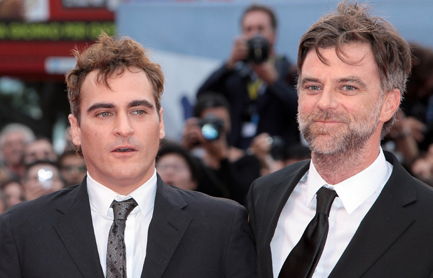 Joaquin Phoenix and Paul Thomas Anderson