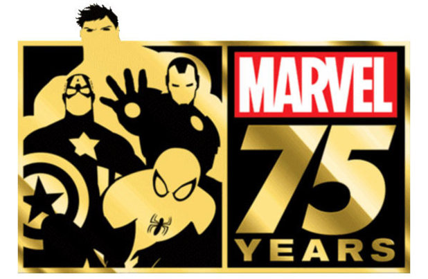 Marvel 75th-anniversary logo