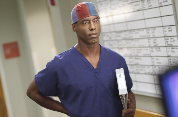 Isaiah Washington in Grey's Anatomy