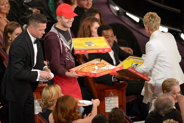 Brad Pitt's pizza
