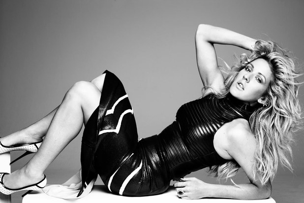 Ellie Goulding in Hunger magazine