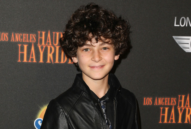 David Mazouz attends the 5th Annual Los Angeles Haunted Hayride Opening Night