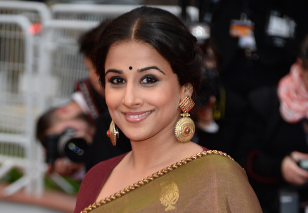 Vidya Balan attends the Premiere of 'Inside Llewyn Davis' during the 66th Annual Cannes Film Festival