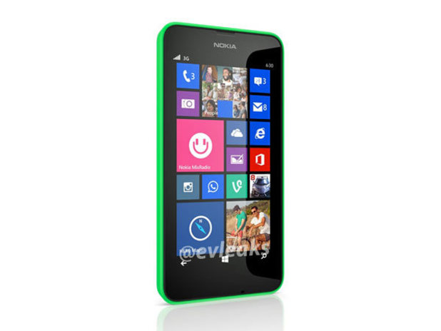 Nokia's Lumia 630 smartphone