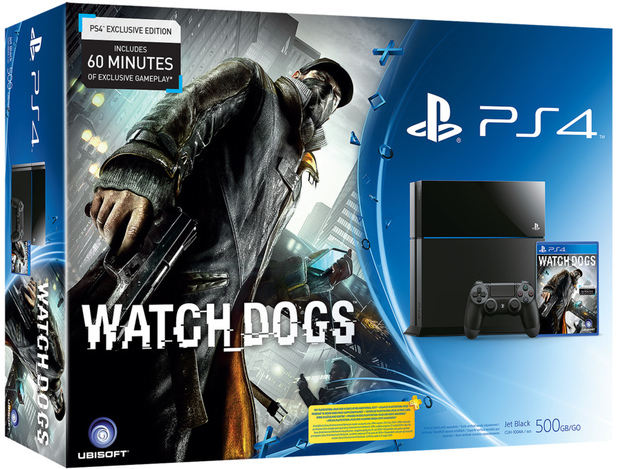 Watch Dogs PS4 console bundle