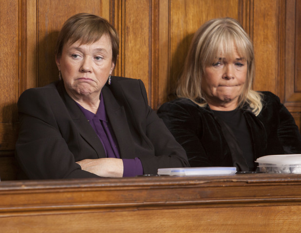 Pauline Quirke and Linda Robson in 'Birds of a Feather' new series finale