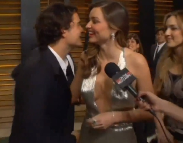 Orlando Bloom and Miranda Kerr at Oscars bash