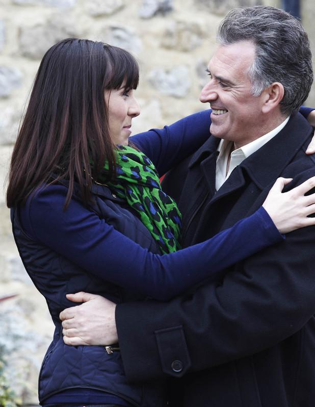 Bob embraces Donna