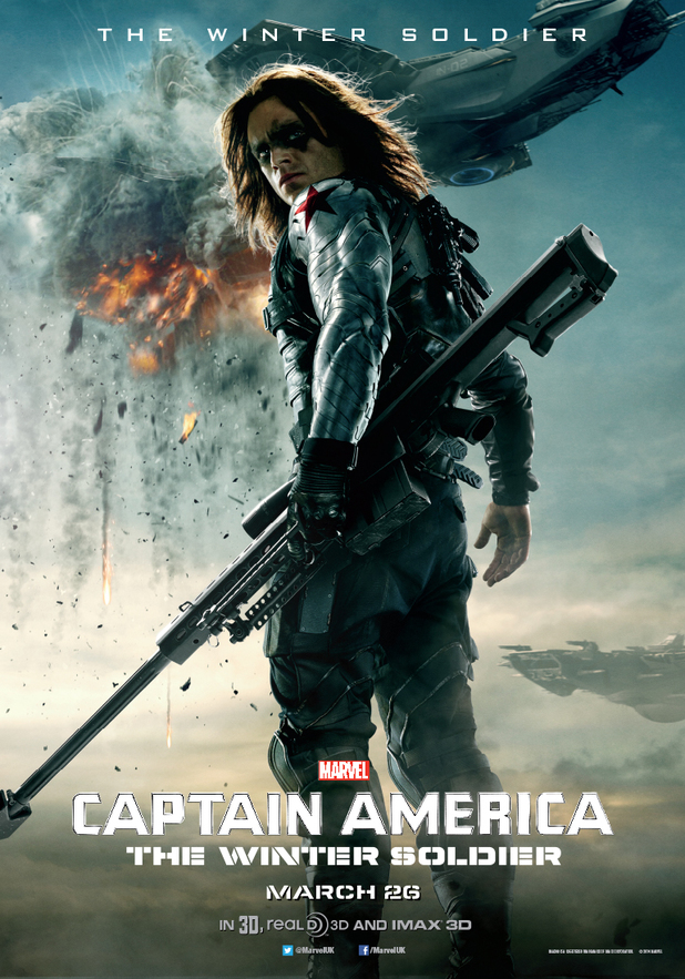 Captain America: The Winter Solider character poster