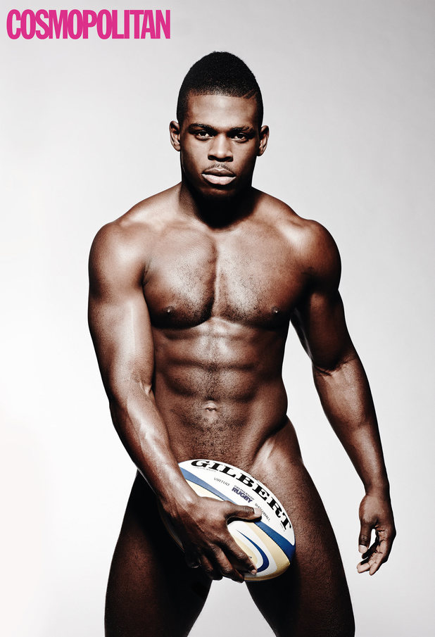 Christian Wade poses naked fro Cosmopolitan magazine
