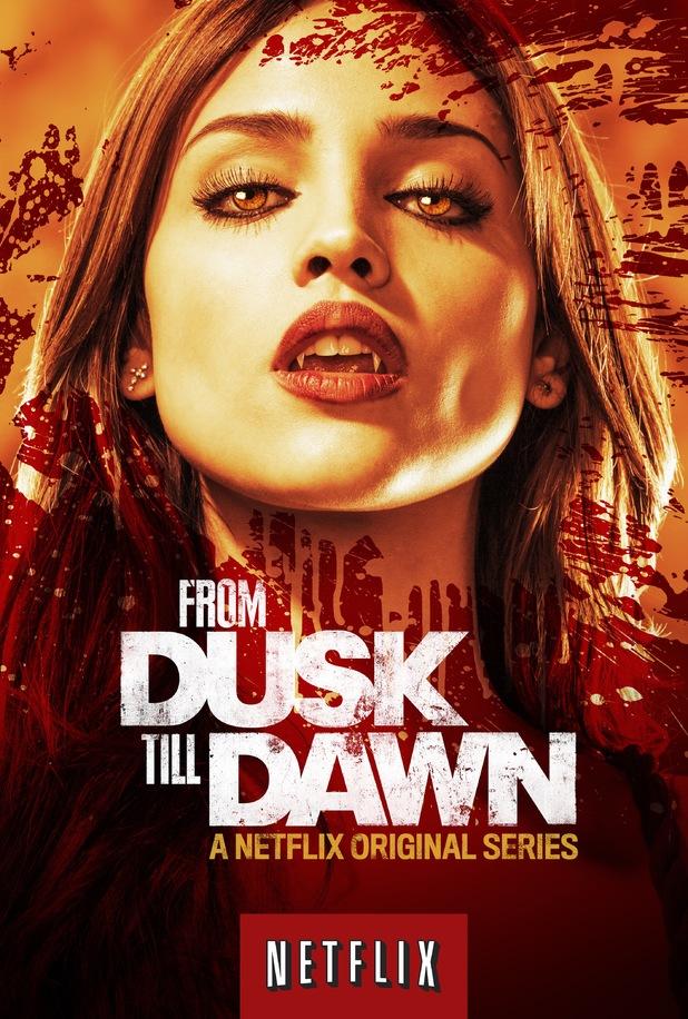 'From Dusk Till Dawn' Netflix poster.