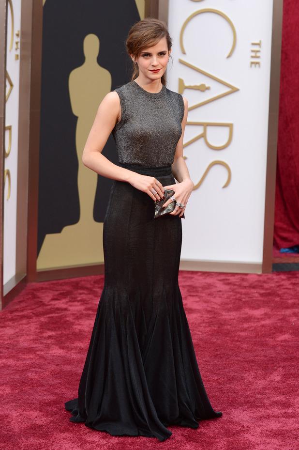Emma Watson Oscars Vera Wang