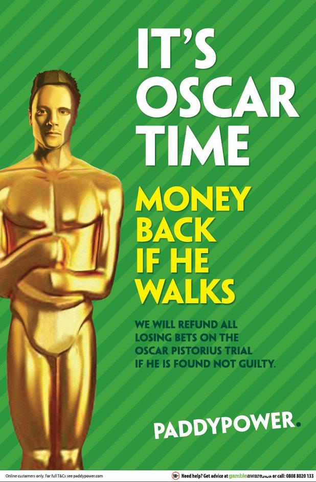 Paddy Power's Oscar Pistorius ad