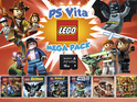 The new bundle includes a PS Vita system, six LEGO games and a memory card.