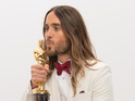 Jared Leto tours Ukraine memorial sites following 30 Seconds to Mars concert.