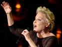 Bette Midler performs on stage during the Oscars 2014