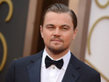Leonardo DiCaprio arrives at the Oscars on Sunday, March 2, 2014, at the Dolby Theatre in Los Angeles.