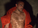 The Borgais star Tom Austen does battle in exclusive stills from new action film.