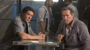 "Escape Plan Arnold and Sly: ""We'll be back"" clip"