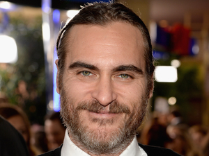 LOS ANGELES, CA - JANUARY 12: Actor Joaquin Phoenix attends the 71st Annual Golden Globe Awards with Moet & Chandon held at the Beverly Hilton Hotel on January 12, 2014 in Los Angeles, California. (Photo by Michael Kovac/Getty Images for Moet & Chandon)