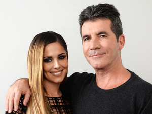 Cheryl Cole and Simon Cowell, March 11 2014, The Arts Club, London