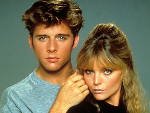 Maxwell Caufield & Michelle Pfeiffer in Grease 2 (1982)