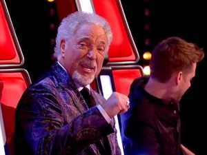Tom Jones on The Voice